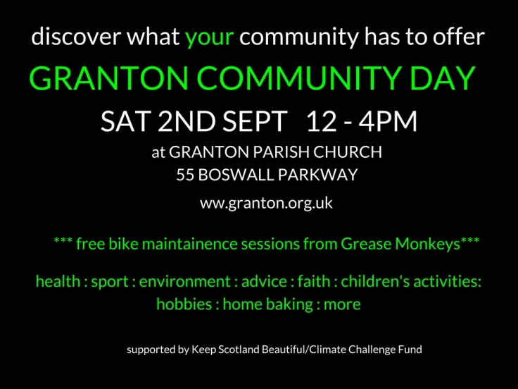 granton church community day